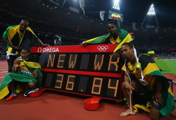 4x100m hommes (Getty Images)
