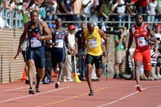 Darvis Patton, Asafa Powell